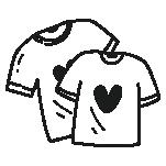Bekleidung (T-shirts / Hoodie usw.)